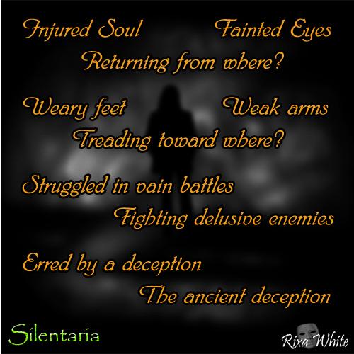 'The Ancient Deception' by Rixa White - Silentaria