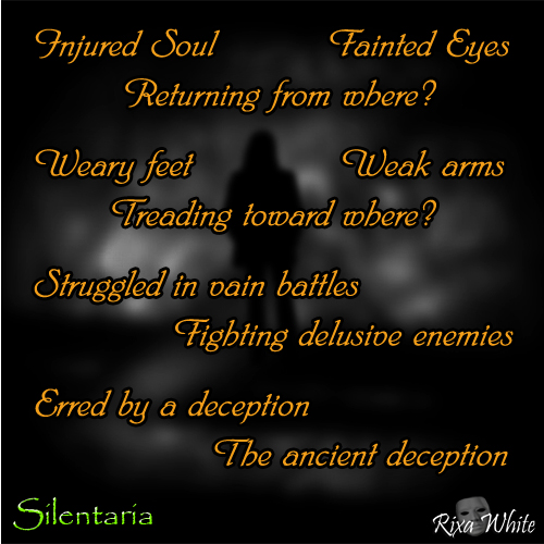 The Ancient Deception - a poem by Rixa White - Silentaria