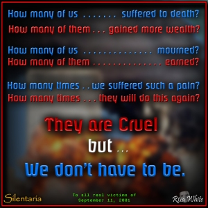 They are Cruel - a poem by Rixa White - Silentaria