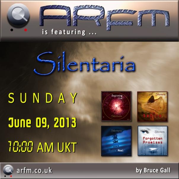 Silentaria on ARfm Radio - 20130609